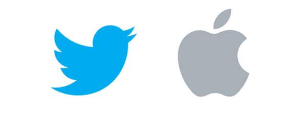 twitter&apple