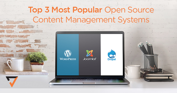 3 Most Popular Open Source CMS